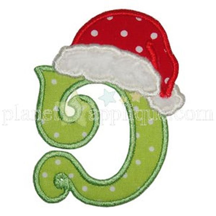 Santa Hat Alphabet