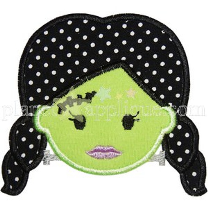 Frankenstein Bride Applique