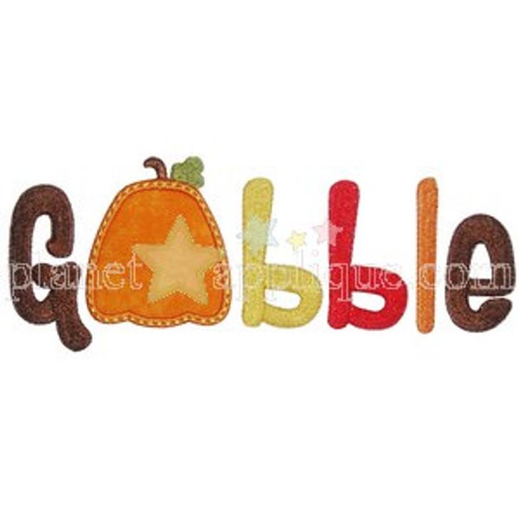 Gobble Applique