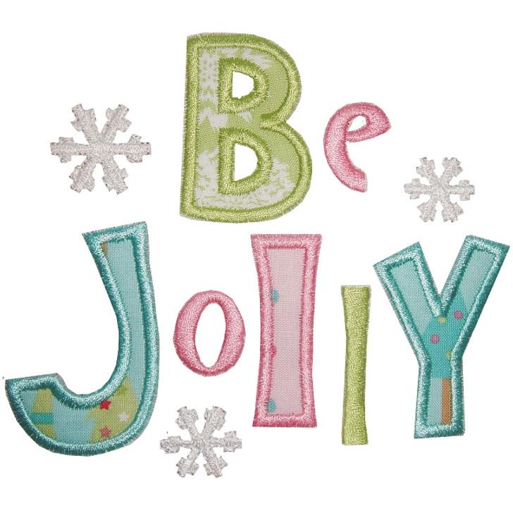 Be Jolly Applique