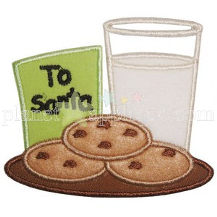 Cookies n Milk Applique