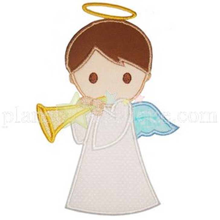 Boy Angel Applique