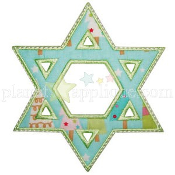 Star of David Applique