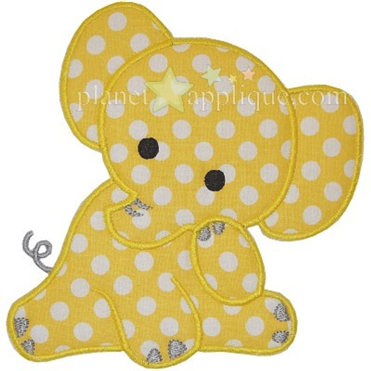 Baby Elephant Applique