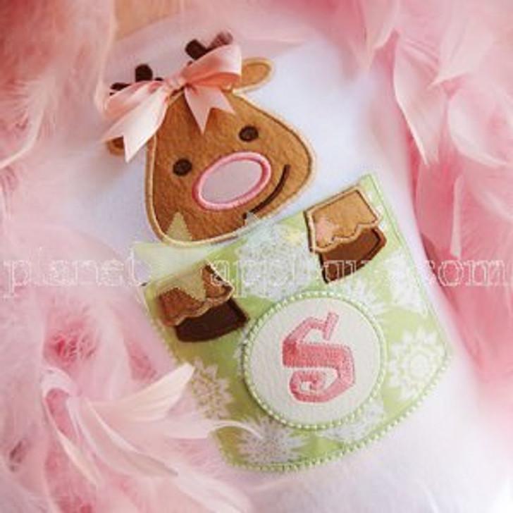 Reindeer Pocket Alphabet