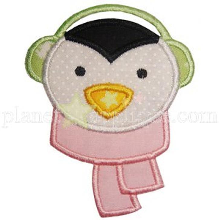 Winter Penguin Applique