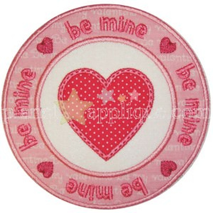 Valentine Seal Applique