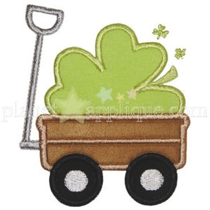 Shamrock Wagon Applique