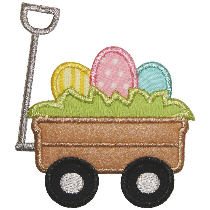Easter Egg Wagon