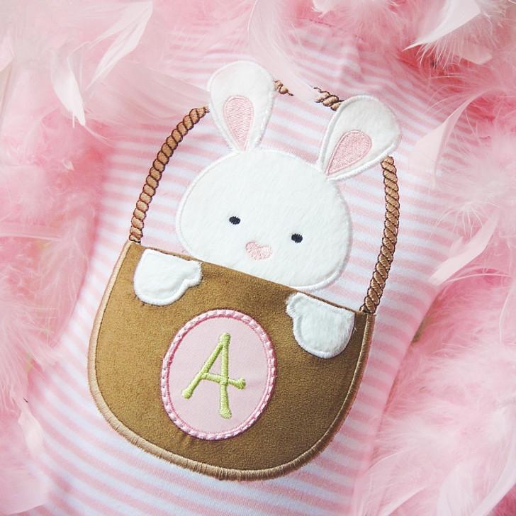 Easter Basket Pocket Alpha