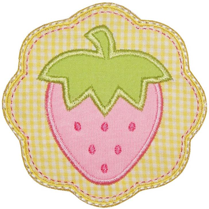 Strawberry Patch Applique