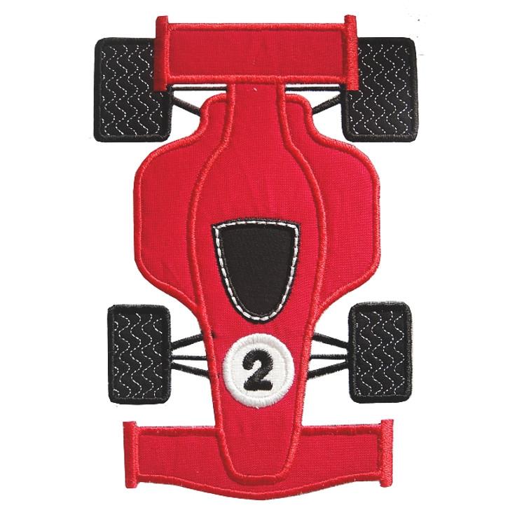 Indy Car Applique