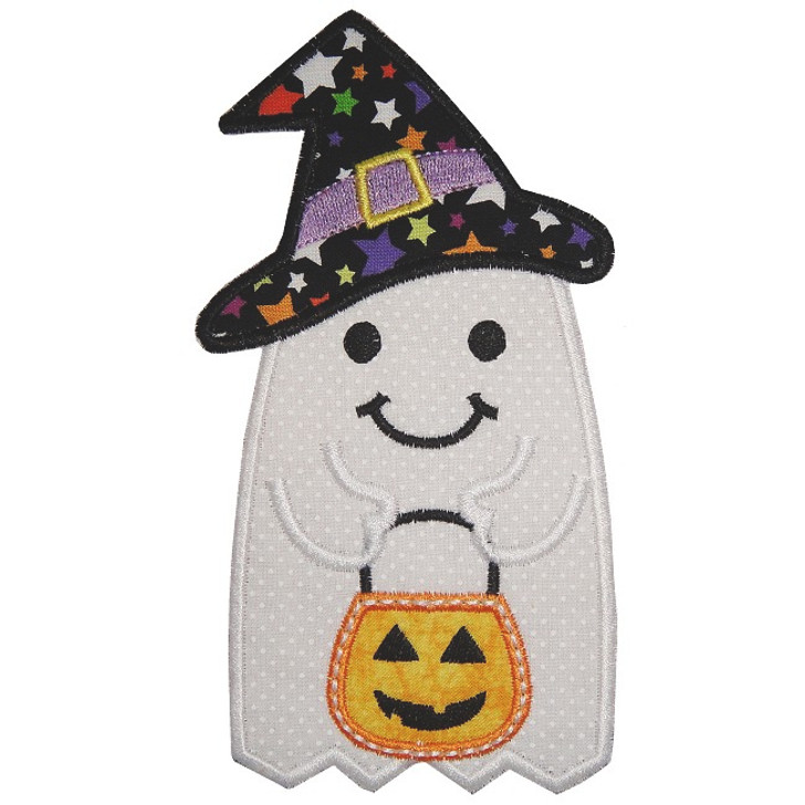 Sweet Lil Ghost Applique