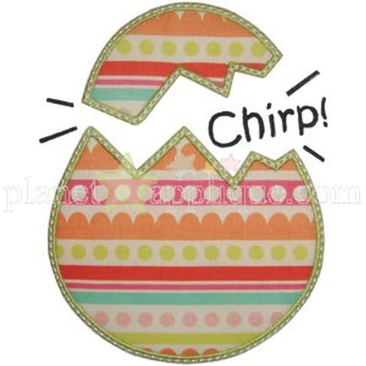 Egg Chirp Applique