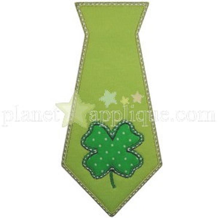 Shamrock Tie Applique
