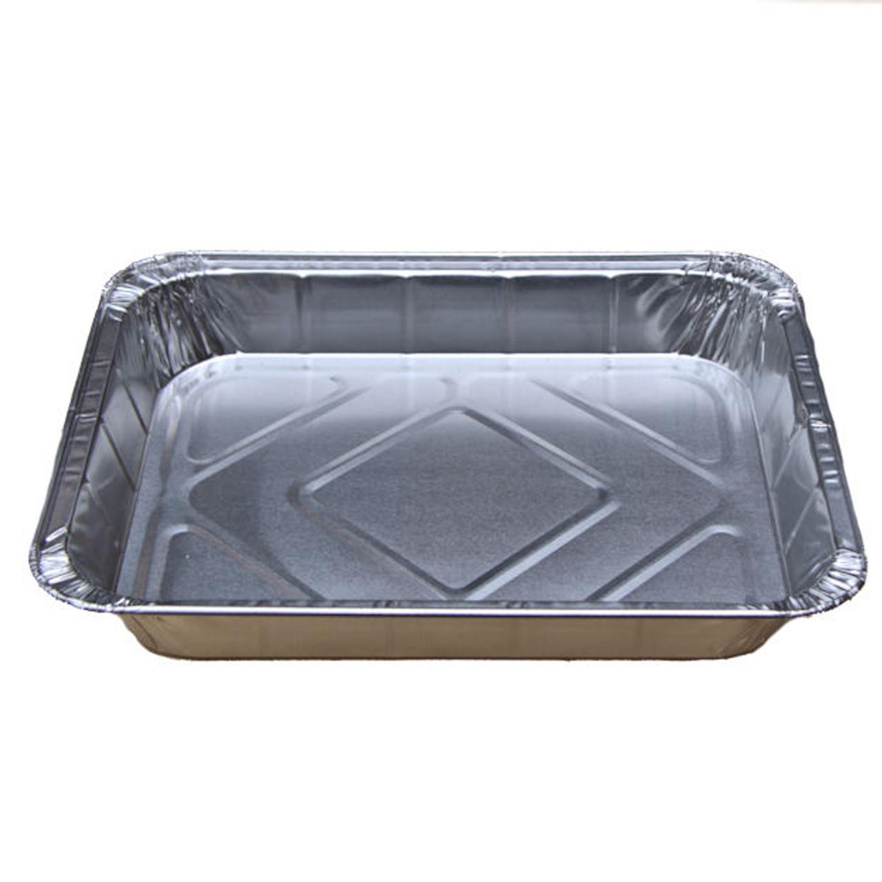 "Large Foil Baking/ Roasting Tray ( 320 x 260 x 40mm ) 121/2""x 101/4""x 11/2"""