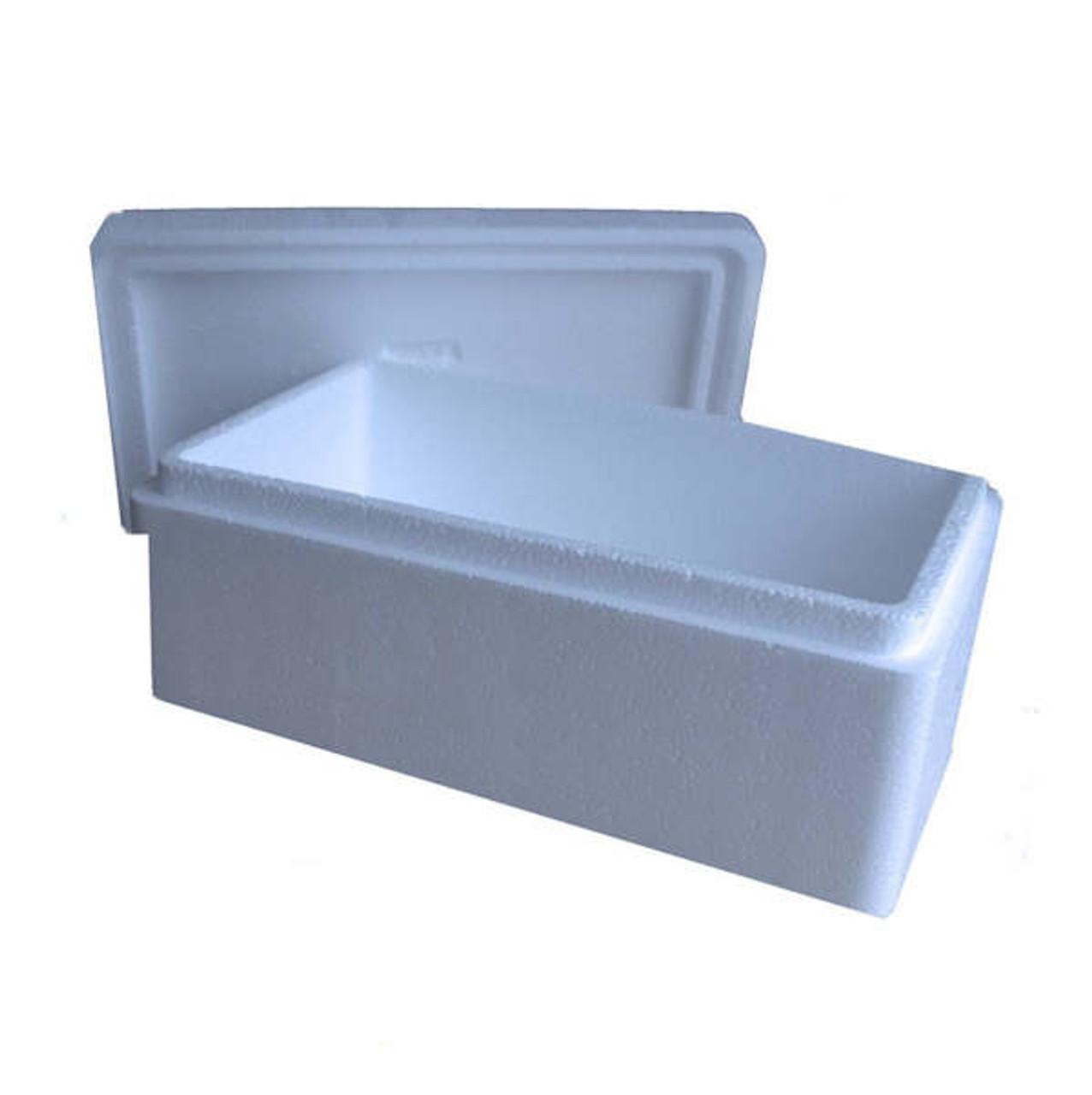 1.5kg Deep Polysterene box & Lids ( min 200 boxes )