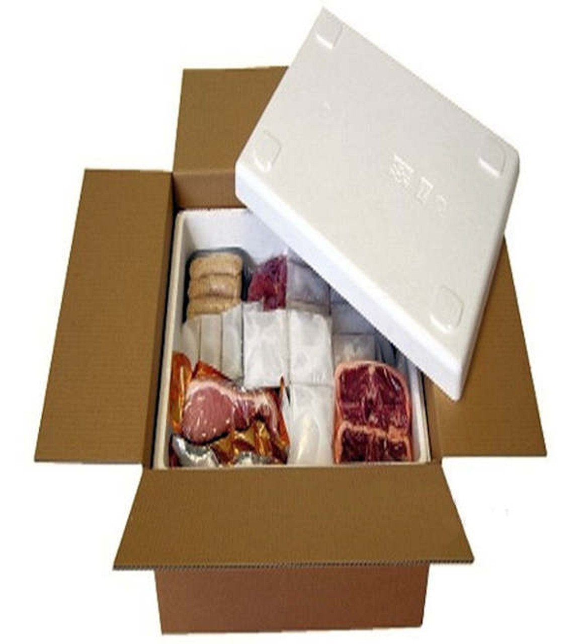 Polystyrene Takeaway Boxes Large Burger Box   Pack of 100  Fast Despatch