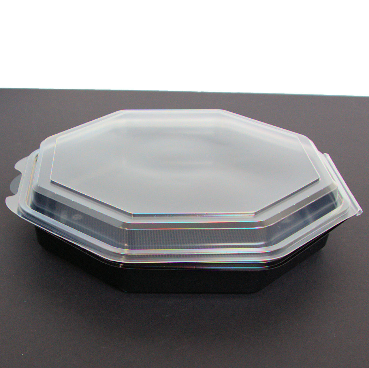 Pack 25 Quality Extra Large Shallow Hexagonal Black Base