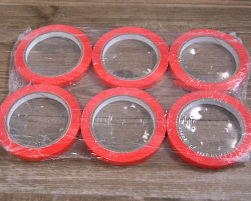 Pack x 6 Rolls x 9mm Bag Sealing Tapes