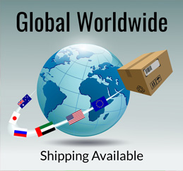 Global Worldwide Shipping Available