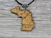Michigan Lake Necklace
