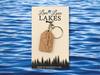 Minnesota Lake Keychain: Crow Wing County