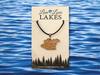 Minnesota Lake Necklace: Hennepin County