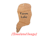 Minnesota Lake Earrings: Todd County