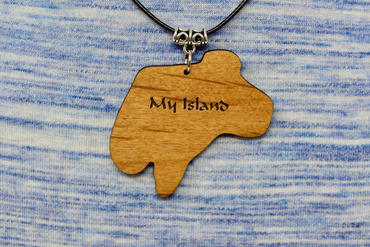 Custom Island Necklace