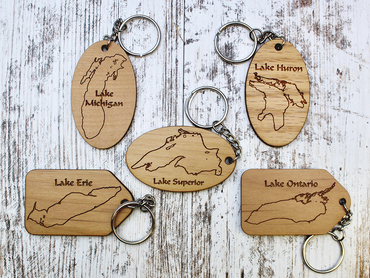 Great Lake Keychain