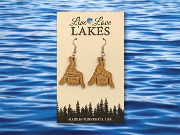 Itasca County Lake Itasca Medium Earrings