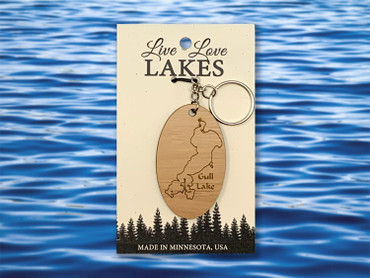 Minnesota Lake Keychain: Crow Wing County