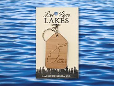 Minnesota Lake Keychain: Todd County