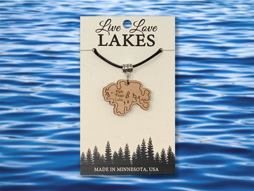 Minnesota Lake Necklace: Morrison County