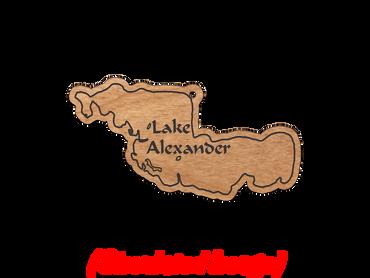 Minnesota Lake Earrings: Morrison County
