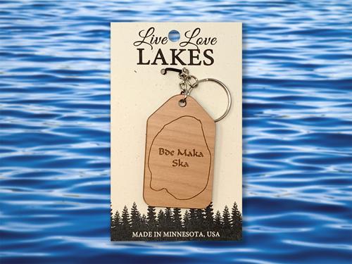 Minnesota Lake Keychain: Hennepin County