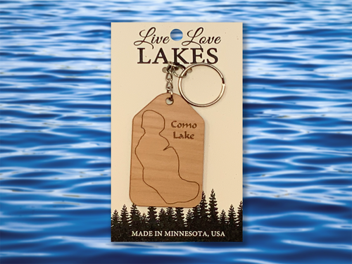 Minnesota Lake Keychain: Ramsey County