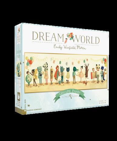 New York Puzzle Company Dream World 24 Pc Puzzle Costume Party