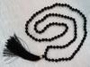 Black Tourmaline Japamala with knots