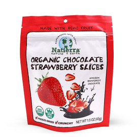 Organic Chocolate Strawberry Slices