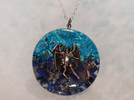 Archangel Michael Orgone Pendants