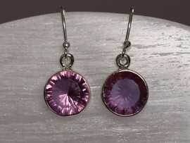Alexandrite & Sterling Silver Earrings