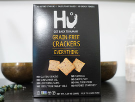 Hu Grain-Free Crackers - Everything