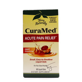 CuraMed Acute Pain Relief - 60 Liquid Gels