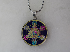 Metatron Pendant with Sterling Silver Chain