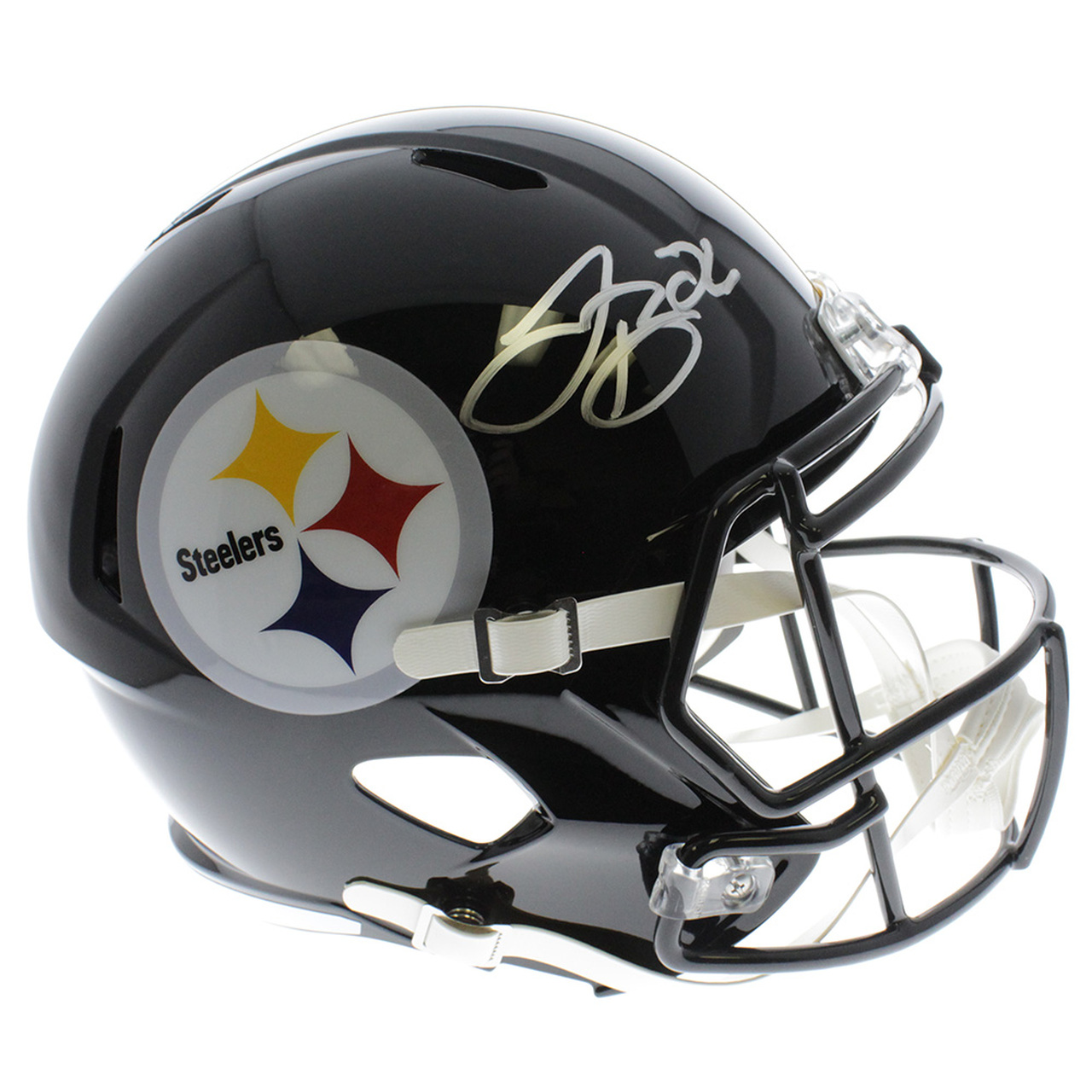 2cc5c6afcbd Le Veon Bell Pittsburgh Steelers Speed Replica Helmet Autographed ...