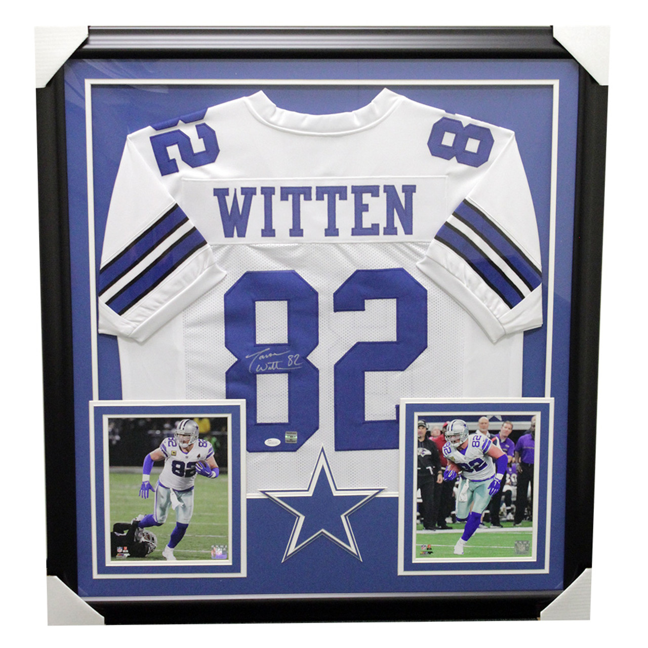 new products 8308c 87303 Jason Witten Dallas Cowboys Framed Autographed Jersey - JSA Authentic