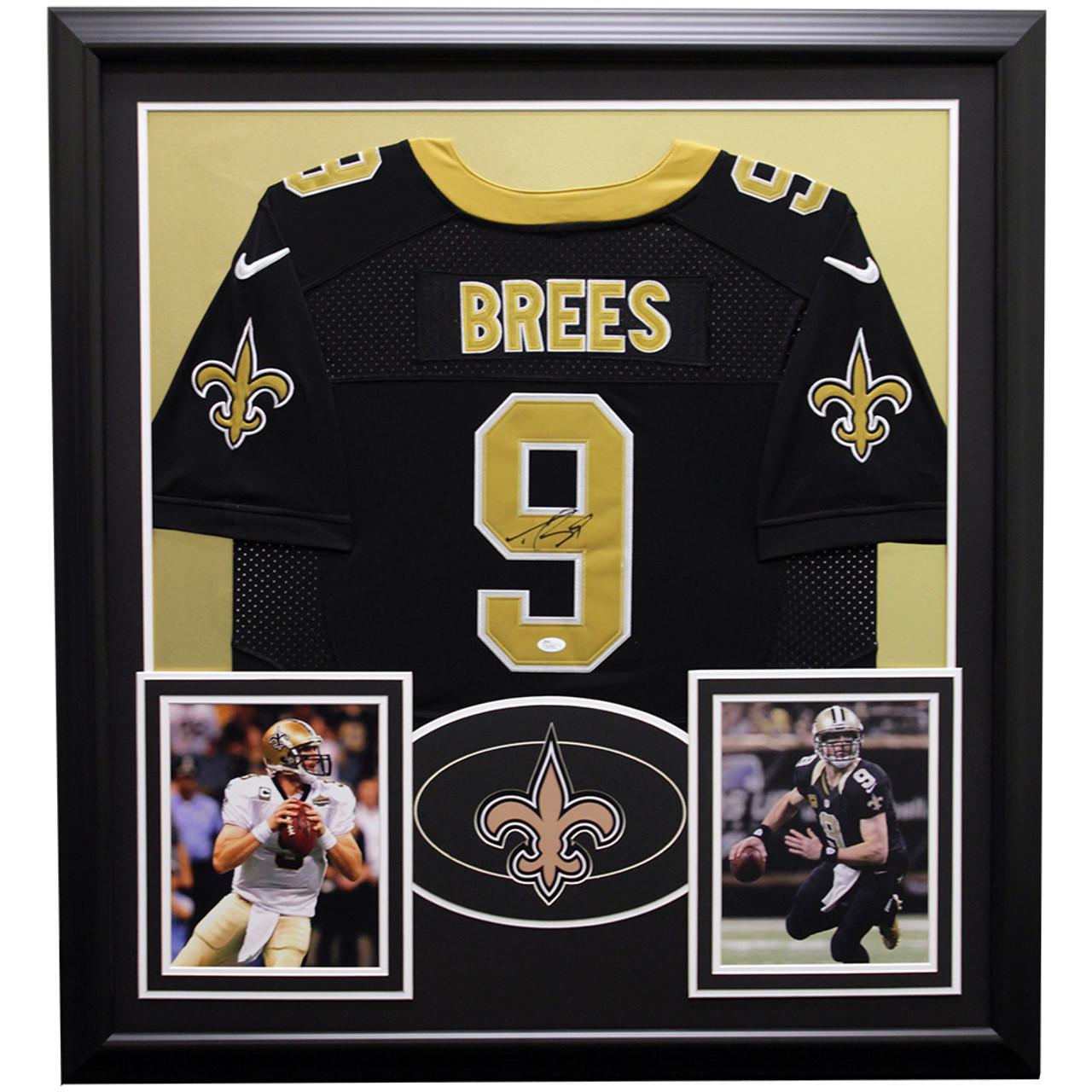 44d3e786 Drew Brees New Orleans Saints Framed Autographed Jersey - JSA Authentic