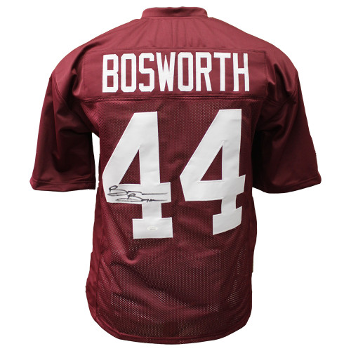 check out f2c37 f90dd Brian Bosworth Autographed Oklahoma Sooners Home Jersey - JSA Certified  Authentic
